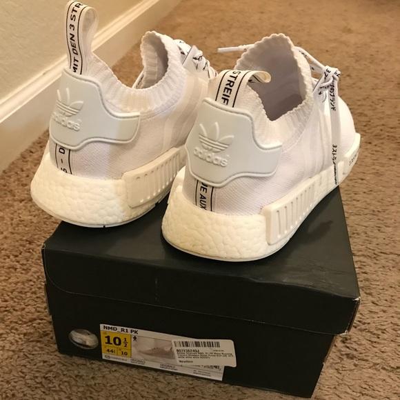 adidas nmd r1 pk white zalando